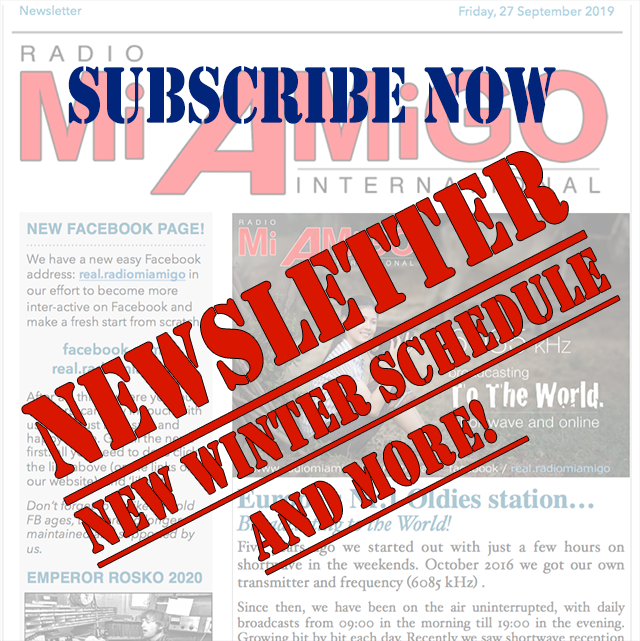 Newsletter - Subscribe now!